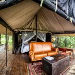 Honeyguide Camp Mantobeni - tent